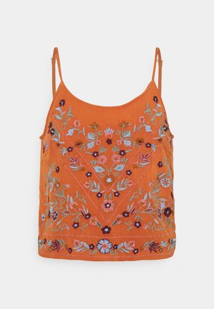 YASCHELLA SINGLET - Top - autumn leaf