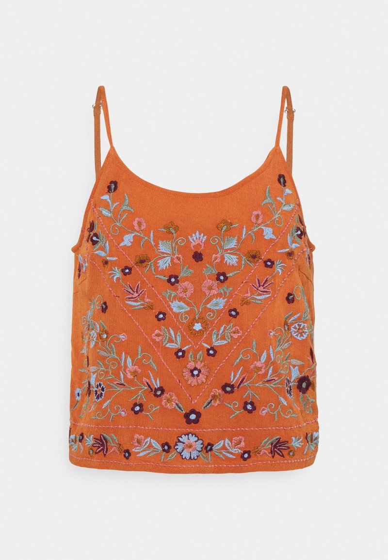 YAS - YASCHELLA SINGLET - Top - autumn leaf
