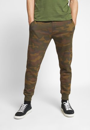 LOGO PANT - Teplákové kalhoty - camo