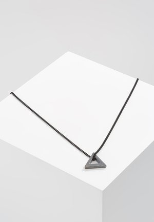 POINT NECKLACE - Halskæder - black