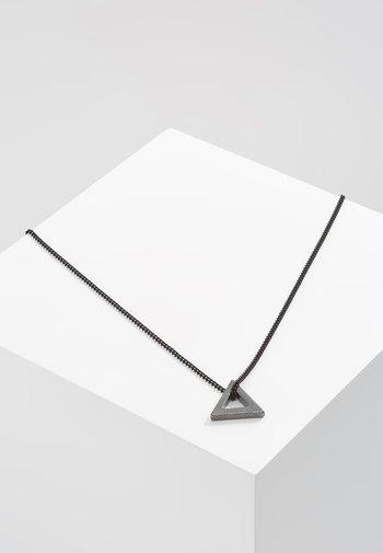POINT NECKLACE - Necklace - black