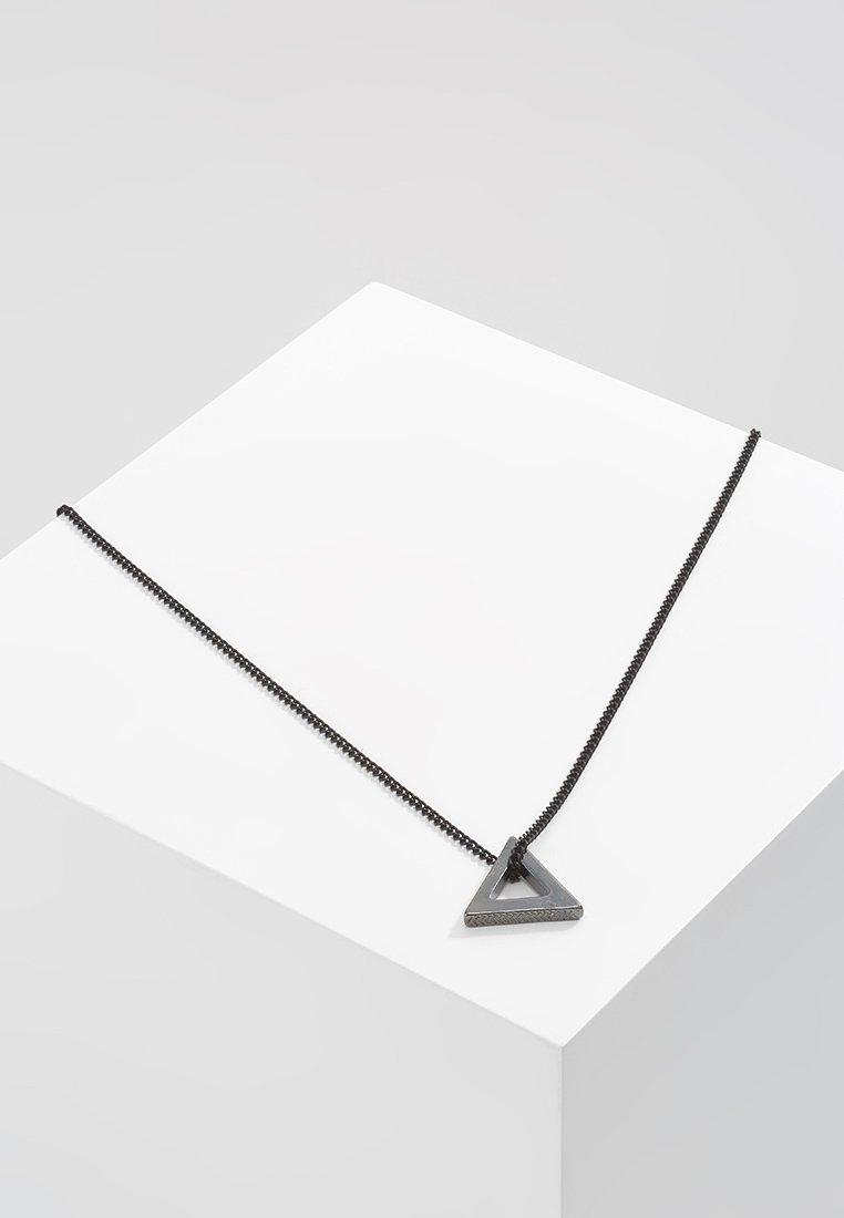 Icon Brand - POINT NECKLACE - Náhrdelník - black