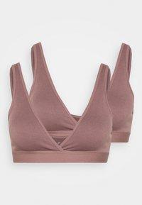 Anna Field - 2 PACK - Topp - pink - 4