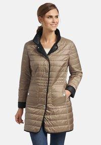 Basler - Winter coat - beige - 4