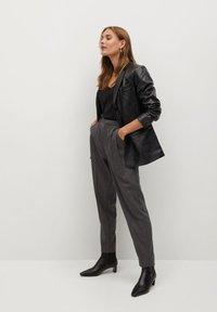 Mango - NAPOLIS - Trousers - gris - 3