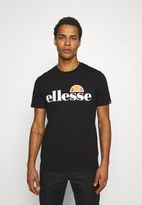 Ellesse - SMALL LOGO PRADO - Print T-shirt - black - 0