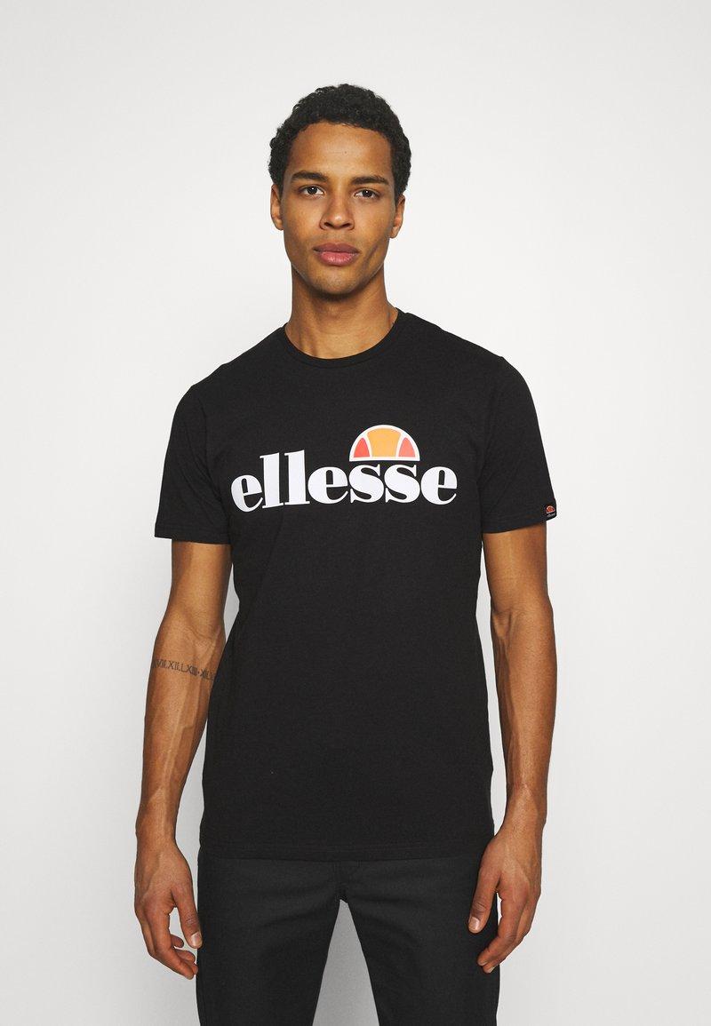 Ellesse - SMALL LOGO PRADO - Print T-shirt - black