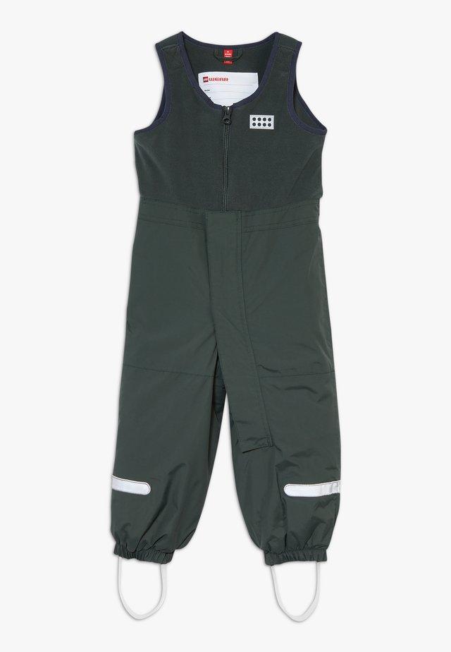 LWPUELO 701 SKI PANTS - Mono para la nieve - dark green