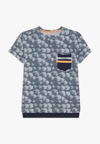 Blue Effect - BOYS WELLEN - Print T-shirt - blue - 0