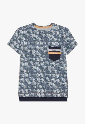 BOYS WELLEN - T-shirt imprimé - blue