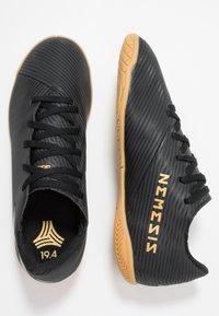 adidas Performance - NEMEZIZ 19.4 IN - Indoor football boots - core black/utility black - 0