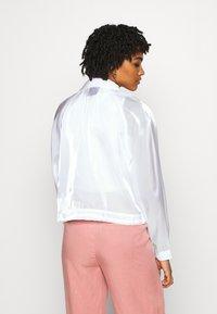 Nike Sportswear - AIR SHEEN - Summer jacket - white/volt - 2