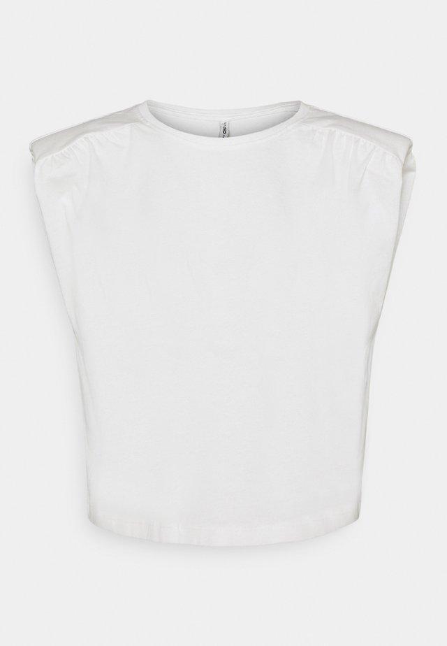 ONLJULLA  - T-shirt basic - cloud dancer