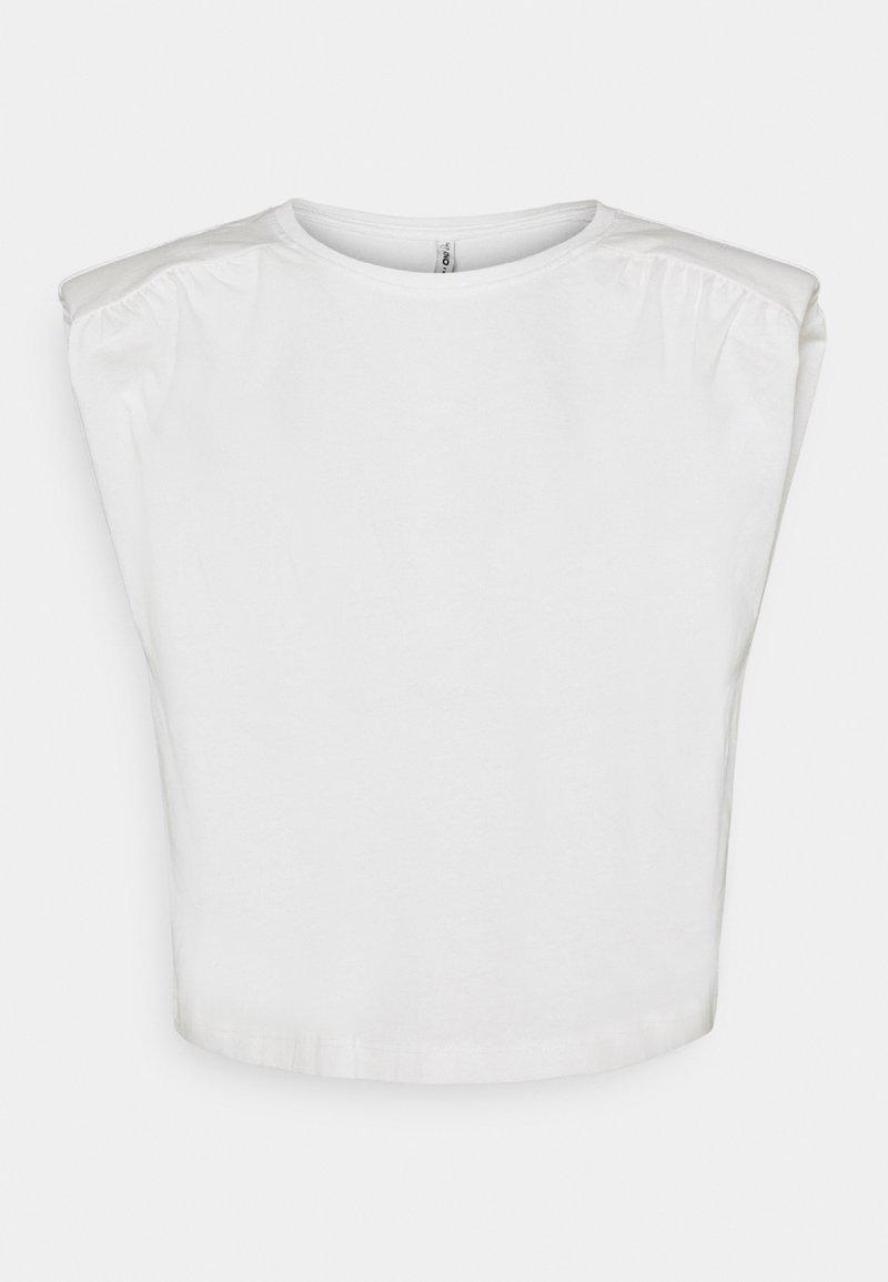 ONLY - ONLJULLA  - Basic T-shirt - cloud dancer