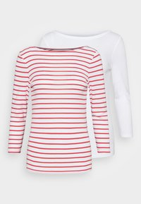GAP - BALLET 2 PACK  - Print T-shirt - red white - 4