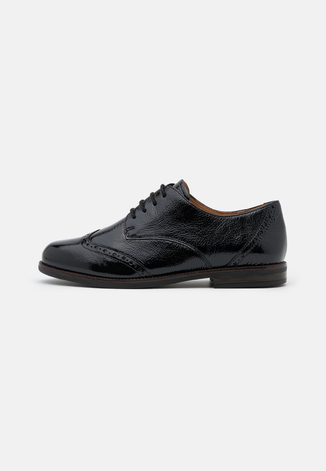 LACE UP - Derbies - black