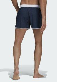adidas Performance - SPLIT ZWEMSHORT - Swimming shorts - blue - 1