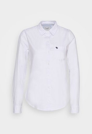 MOOSE OXFORD - Button-down blouse - white