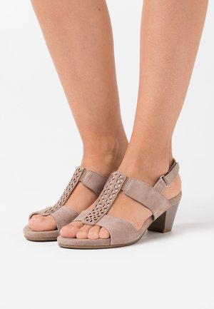 Sandales - stone