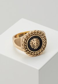 Wild For The Weekend - CHAIN AND LION HEAD - Ring - gold-coloured - 0