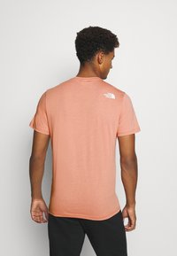 The North Face - MENS SIMPLE DOME TEE - Basic T-shirt - pink clay - 2