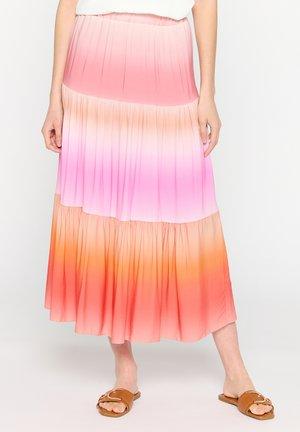 Maxi skirt - fuchsia