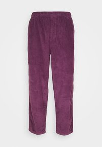 Obey Clothing - EASY PANT - Trousers - blackberry wine - 0
