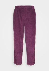 Obey Clothing - EASY PANT - Kalhoty - blackberry wine - 0