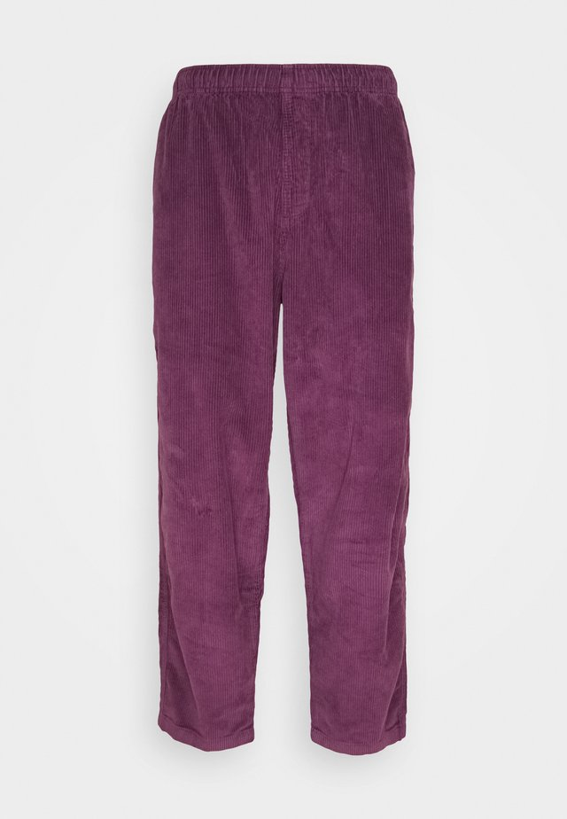 EASY PANT - Trousers - blackberry wine