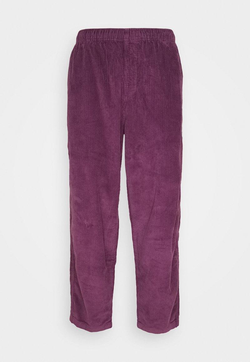 Obey Clothing - EASY PANT - Kalhoty - blackberry wine