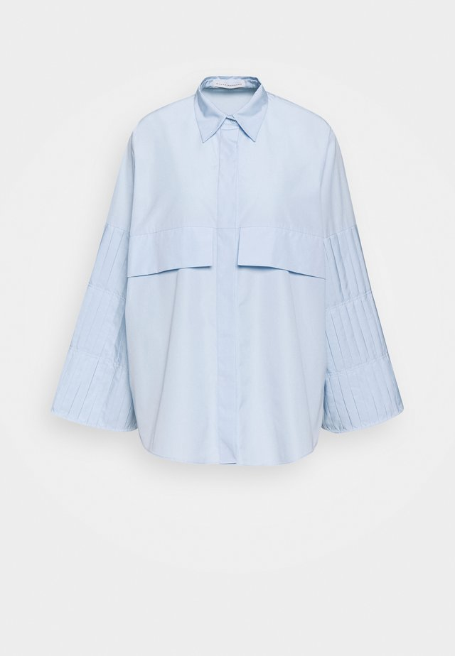 LAIMA - Button-down blouse - light blue