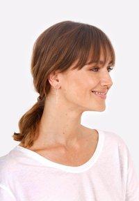 Elli - STIFT MINIMALISMUS  - Earrings - gold-coloured - 0