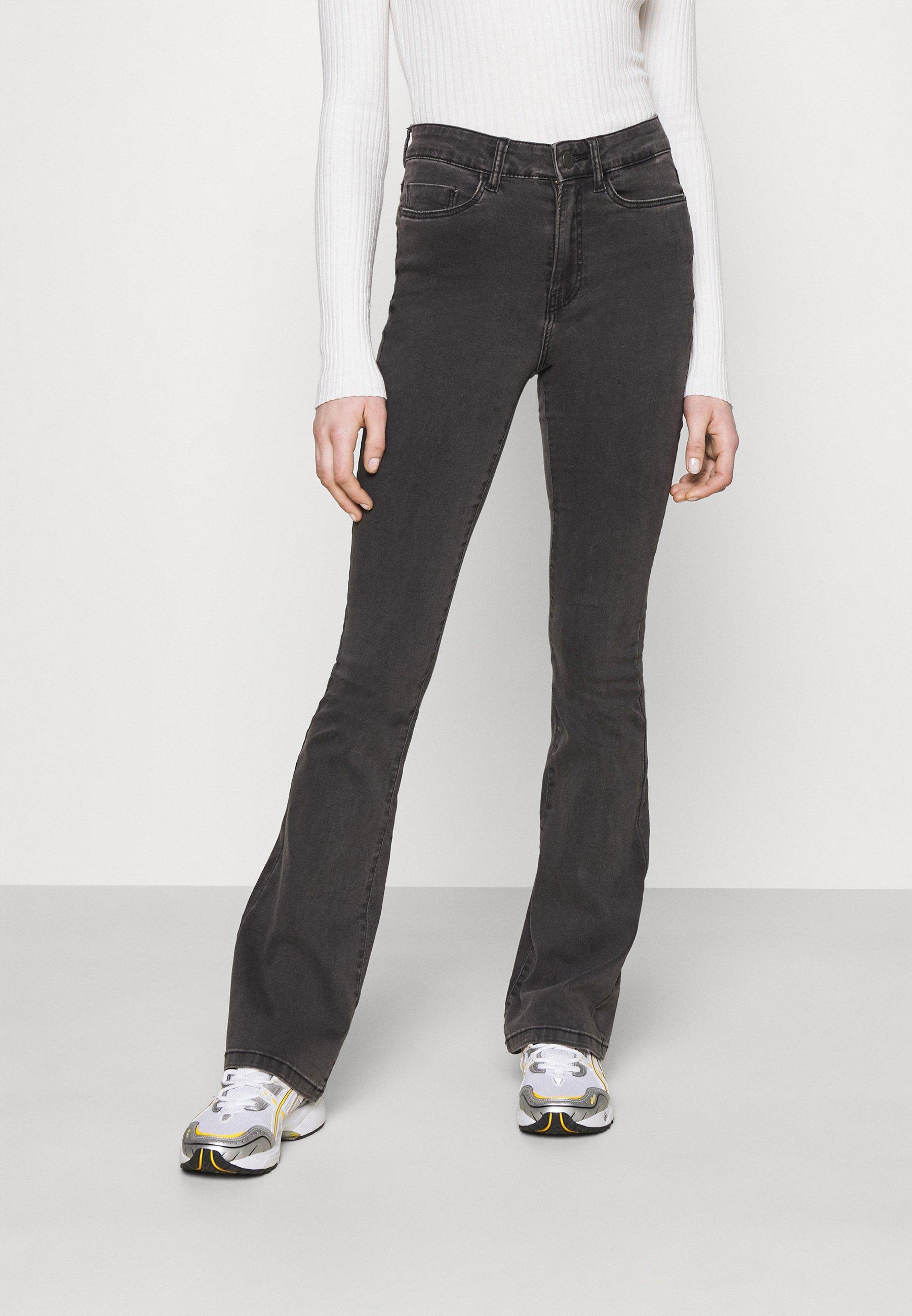 Women NMSALLIE  - Flared Jeans