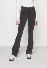 Noisy May - NMSALLIE  - Jeans a zampa - dark grey denim - 0