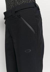 Oakley - WOMENS PANT - Pantalón de nieve - blackout - 5