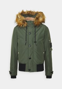 Diesel - W-JAME JACKET - Winter jacket - olive - 5