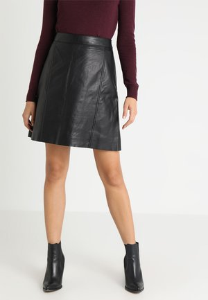 PALE SKIRT - A-line skjørt - black