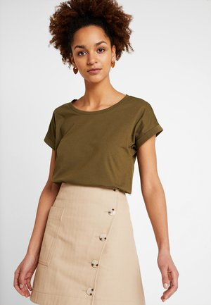 VIDREAMERS PURE - Basic T-shirt - dark olive