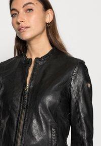 Gipsy - ZAI LASTAV - Leather jacket - black - 3