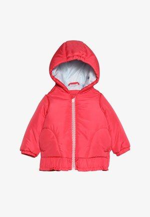 OUTDOOR JACKET BABY - Veste d'hiver - strawberry