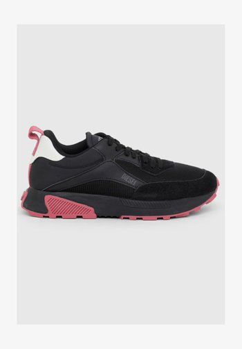 S-TYCHE LOW CUT W - Trainers - black/pink