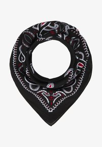 Vintage Supply - 2 PACK BANDANA - Foulard - black/grey - 0