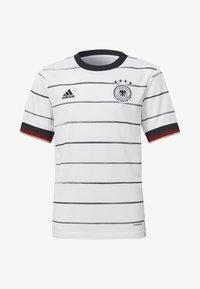 adidas Performance - DEUTSCHLAND DFB HEIMTRIKOT - National team wear - white - 0