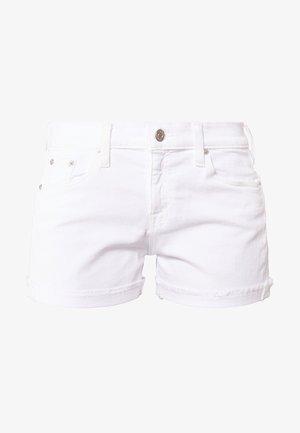Denim shorts - white