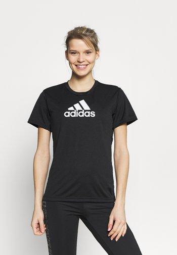 Camiseta estampada - black/white