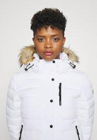 Superdry - CLASSIC FUJI JACKET - Winter jacket - white - 6