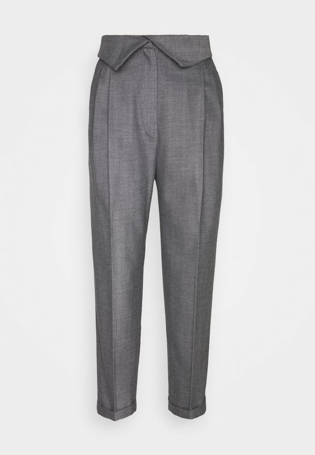 TROUSERS - Stoffhose - light grey