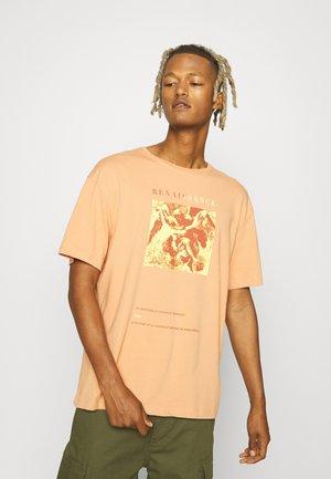 RENAISANCE UNISEX - T-shirt print - peach