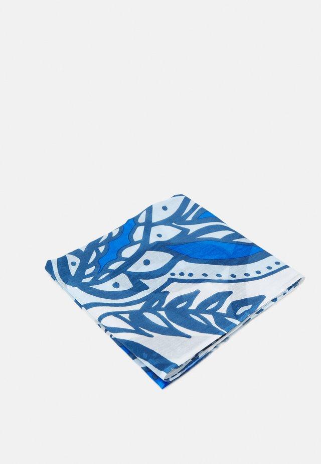 SCARF SUPER SOFT MIX VARIOUS PRINTS - Sciarpa - blue