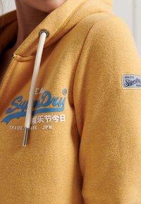 Superdry - Zip-up sweatshirt - ochre marl - 2